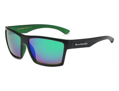 Biohazard Sunglasses 66223 Trendy Urban Casual Square Polymer Wrap Unisex