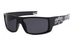 Locs Skull Hardcore Sunglasses 91025-skl