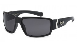 Locs Matte Black Sunglasses loc91084-mb