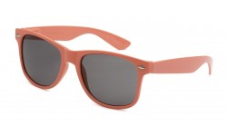 Peach Wayfarer Sunglasses WF01-PEACH