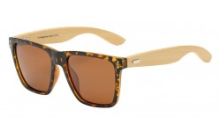 Superior Polarized Bamboo Sunglasses pz-89003