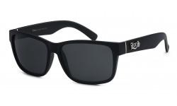Locs Matte Black Sunglasses locs91070-mb