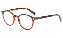 Reading glasses thin Round Mix Strength r389