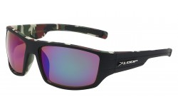 Xloop Camo Print Square Frame Shades x2596