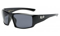 Locs Shiny Black Sunglasses loc91138-bk