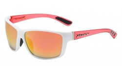 Two Tone Crystal Clear Temple Shades x2606