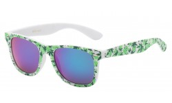 Cannabis Leaf Printed Frame Shades wf01-mj2
