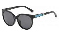 Polarized Rhinestone Temple Shades pz-rs2003