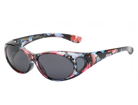 Polarized Baricade Rhinestone Shade pz-bar615-rs
