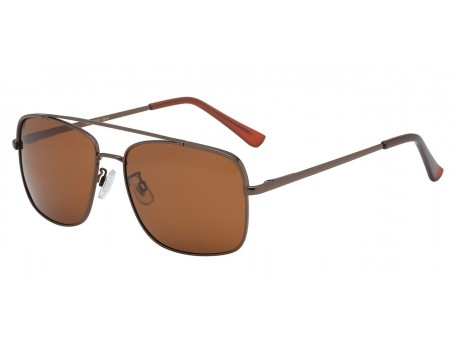 Polarized Square Metallic Aviator pz-av5131