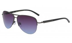 Semi Rimless Metallic Aviator av5134