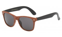 Kids Wayfarer Wood Print Shades kg-wf01-wood