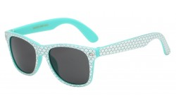 Kids Wayfarer Mermaid Scale Print kg-wf01-mer