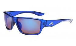 Blue Tech Lens Sporty Wrap Shades ab-44