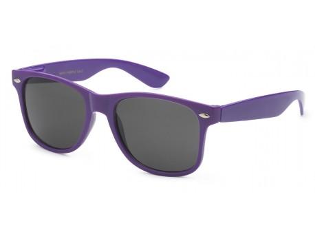 Wayfarer Purple Frame Sunglasses wf01-purple