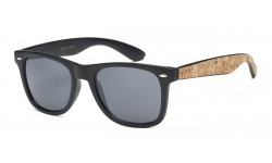 Wayfarer Cork Accented Temple wf01-cork