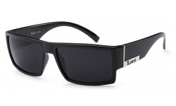 Locs Matte Black Sunglasses loc91026-mb