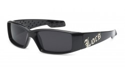 Locs Polishe Black Sunglasses loc9052-bk